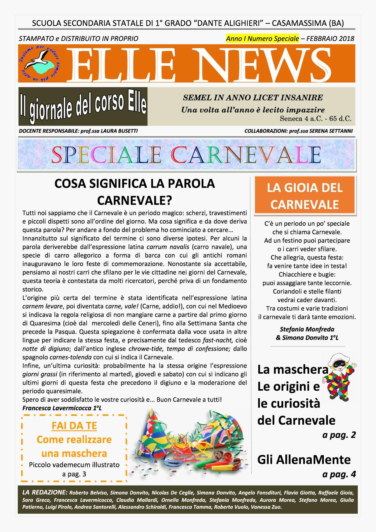 Elle News n. speciale1